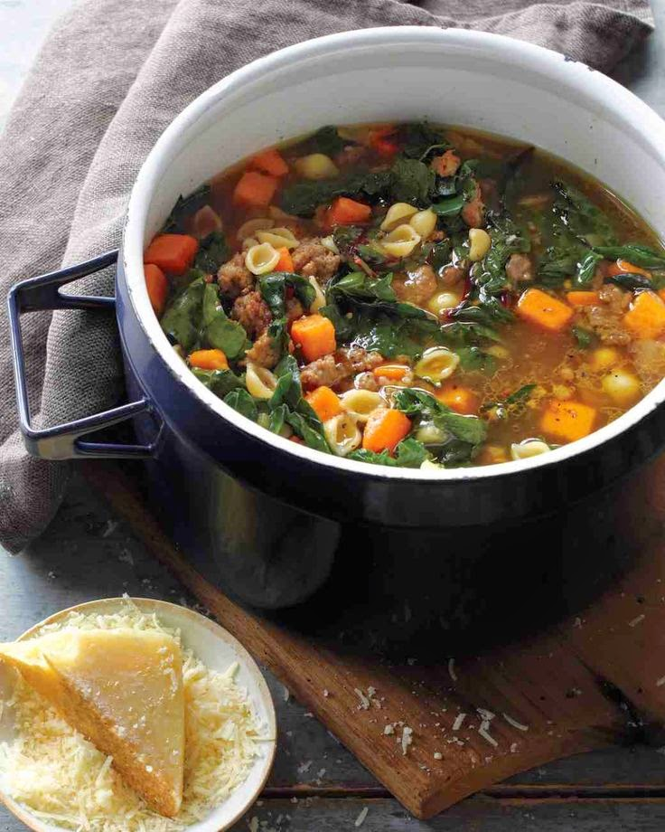 Soup recipe with kale as ingredient