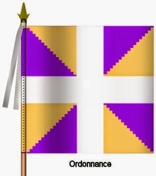 Angoumois Infanterie Ordonnance Flag