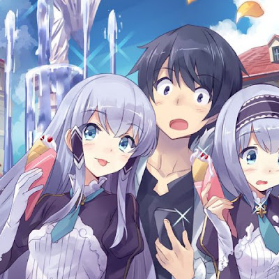 Primer tráiler del anime Isekai wa Smartphone to Tomo ni