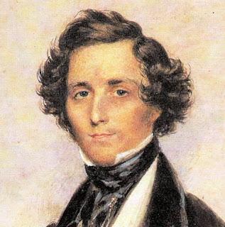 Pintura de Felix Mendelssohn en 1839