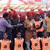 सरदारपुर - खंड स्तरीय आनंद उत्सव कार्यक्रम का हुआ आयोजन, सुखी व्यक्ति ही सफलता के शिखर को छुता है - विधायक ग्रेवाल