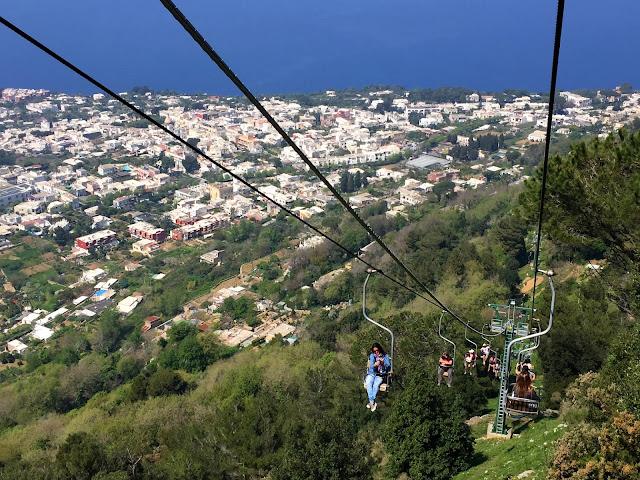 Monte Solaro, wyciąg