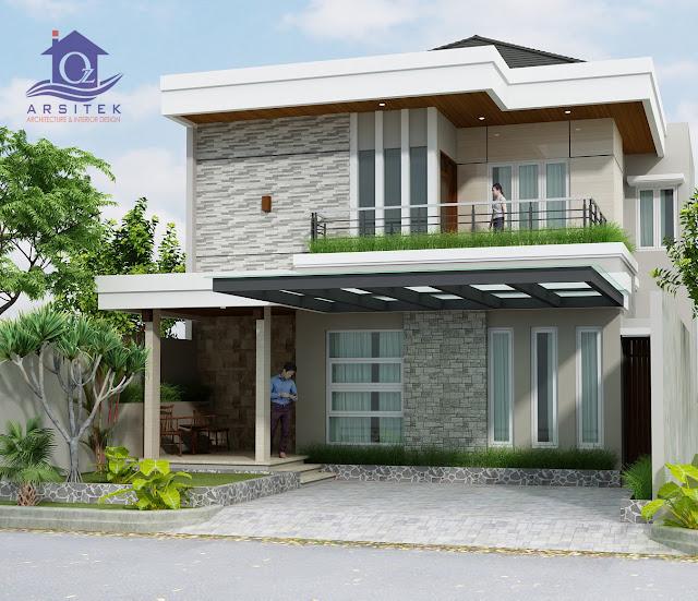 Desain Eksterior Rumah Ibu Dewi di Bali