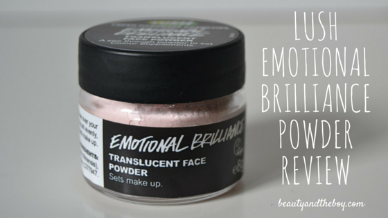 Lush Emotional Brilliance Powder Review