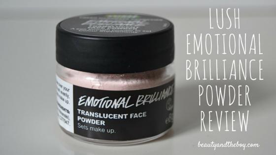 Lush Emotional Brilliance Powder Review