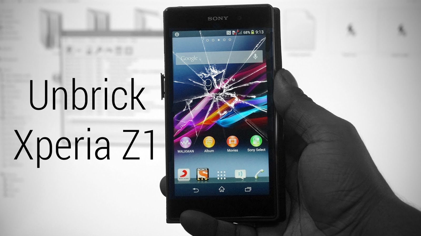 How to Repair Sony Xperia Z1 C6903 Dead Boot - My-gadget-media
