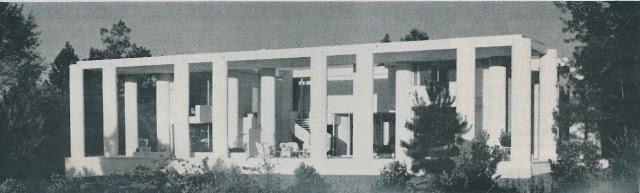 Resultado de imagen de wallace residence paul rudolph athens