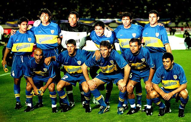 Grandes Times: o Boca Juniors de 2000-2003