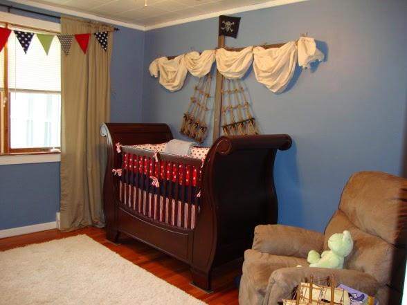 Dormitorio bebé pirata