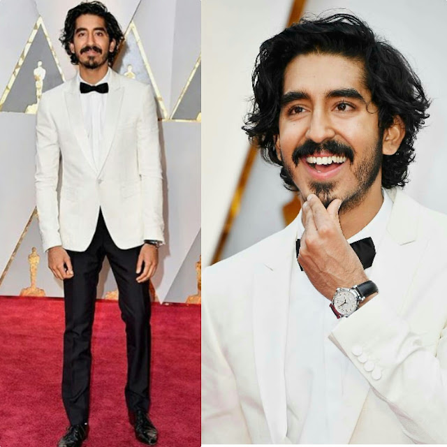 Dev Patel In Burberry At Oscars 2017