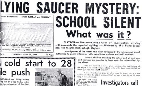 Incidente ovni de Westall en 1966
