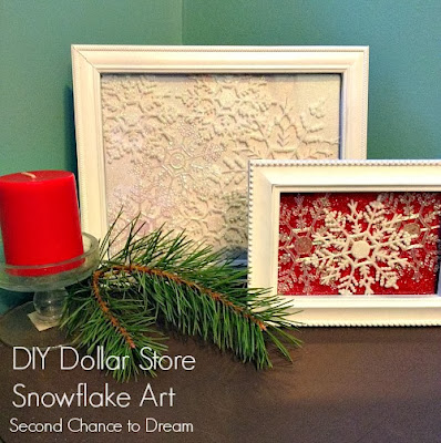 Second Chance to Dream DIY Dollar Store Snowflake Decor