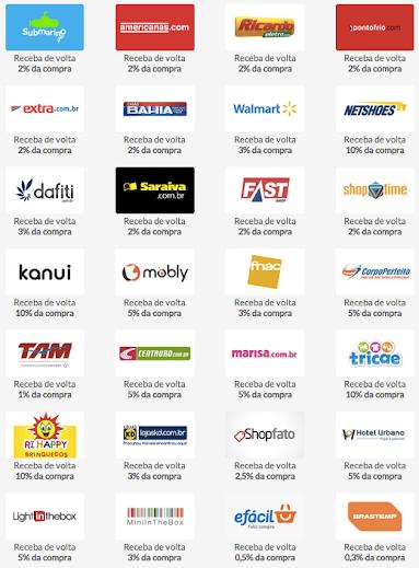 Grandes e pequenas lojas fazem parte do programa do site Meliuz