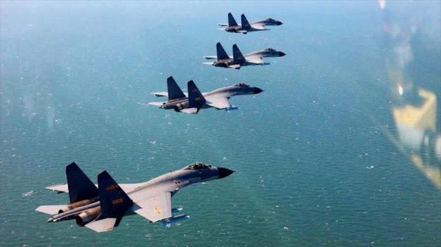China defiende interceptación 'profesional' de avión espía de EEUU
