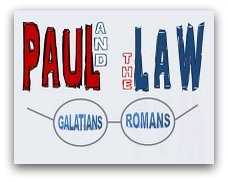 Paul the law Galatians Romans