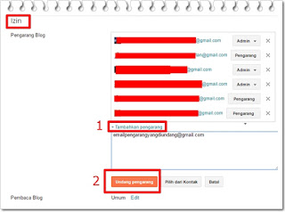 Cara mengganti admin blog dengan mudah