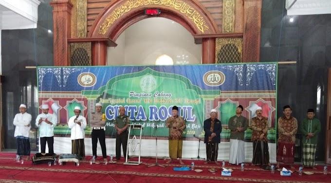 Babinsa Hadiri Acara Maulid Nabi Di Masjid Roudlotul Hikmah Desa Sidowayah