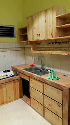 Kitchen Set Yogyakarta Minimalis Elegan