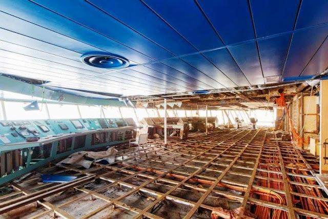 7103232 3x2 940x627 - Primeiras imagens do Costa Concordia depois de ser resgatado em 2014