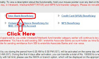 how to add interbank beneficiary in sbi