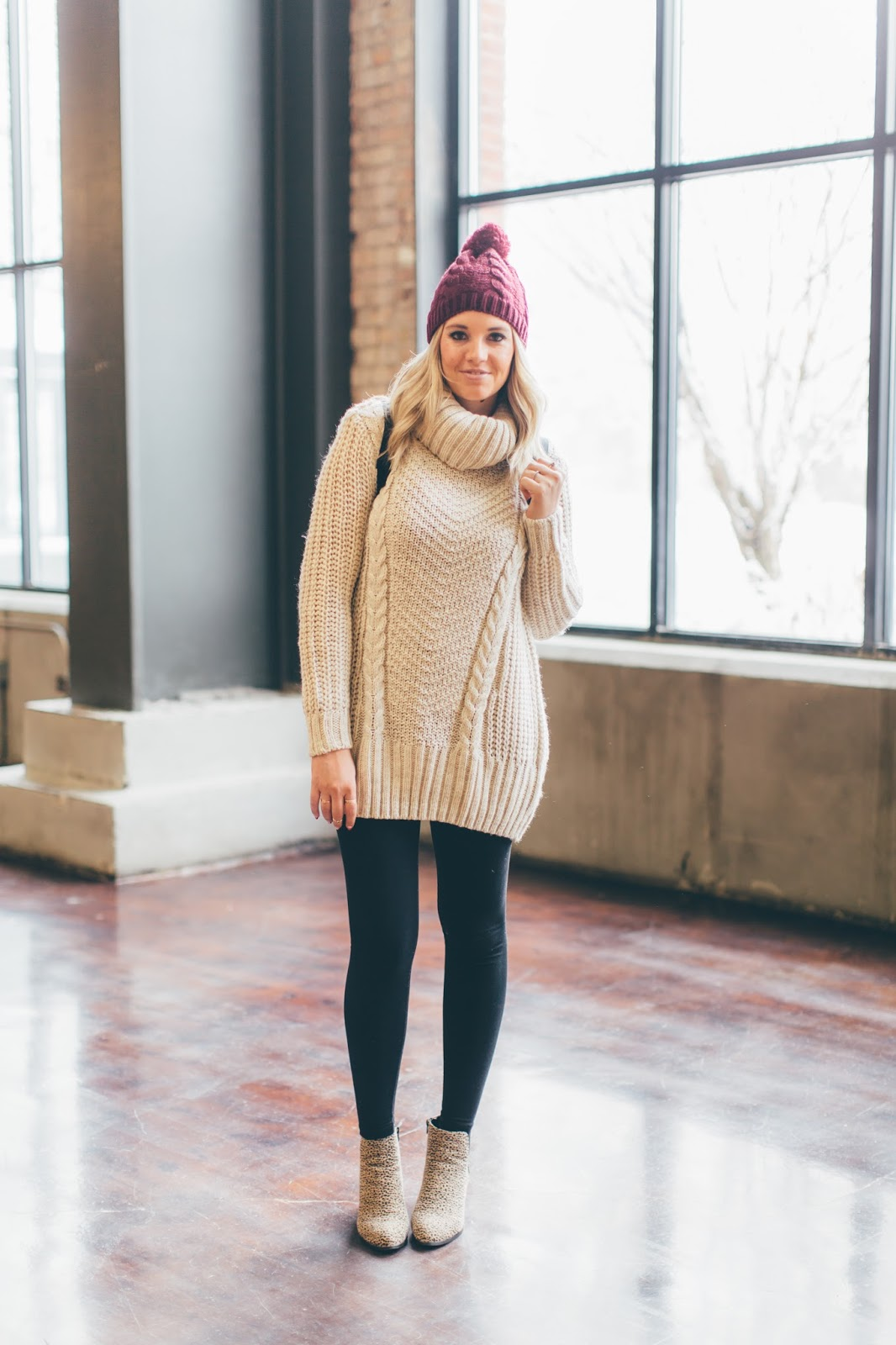 Winter Outfit, H&M, Cozy Outift, Utah Fashion Blogger
