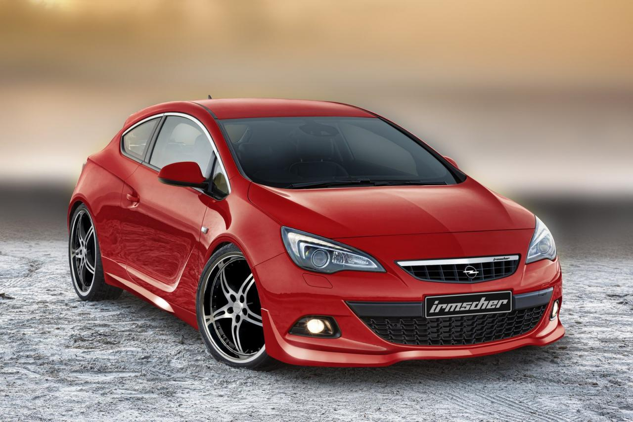 6380d7ef5 German tuner Irmscher has announced a tuning kit for the Opel Astra GTC.