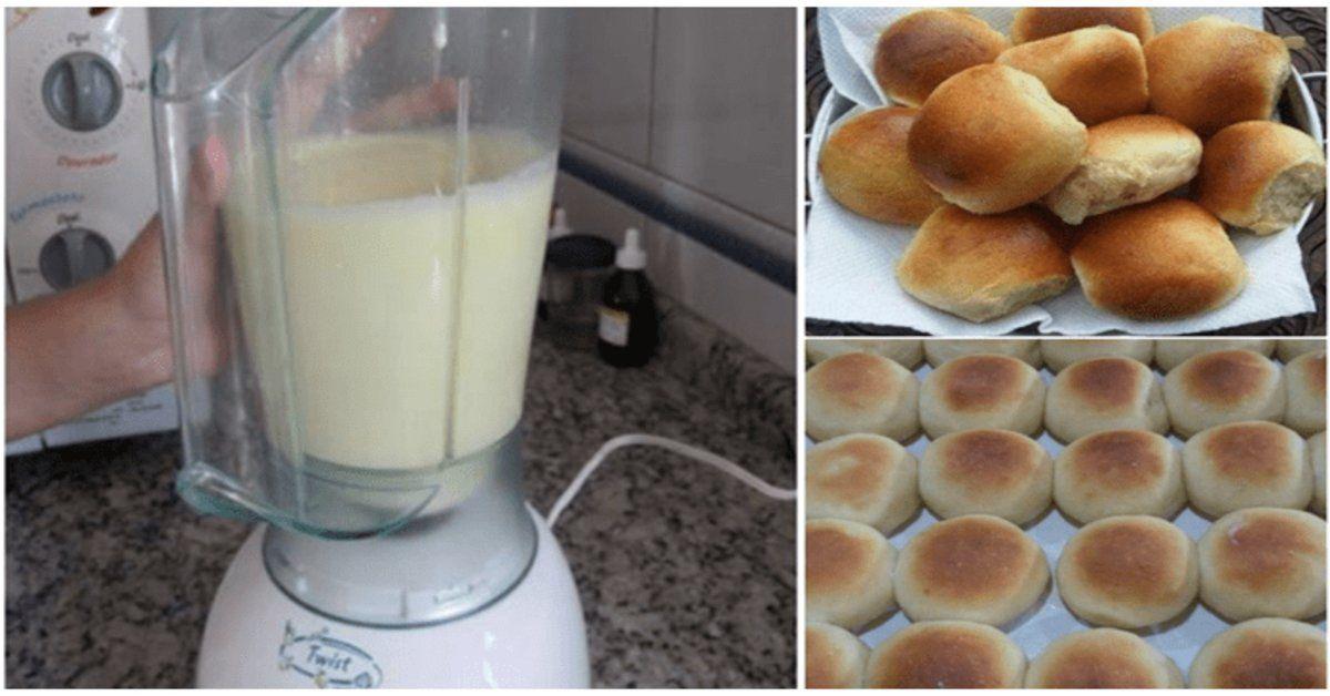 mussarela-Muçarela-mozarela-receita de pao-pão caseiro-pãozinho de liquidificador-padaria-receita de pão caseiro-pão de minuto-blender bun-padaria