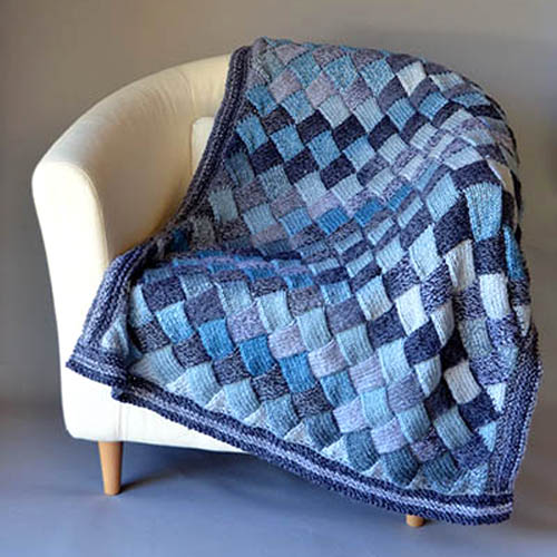 Woven Sky Throw - Free Pattern