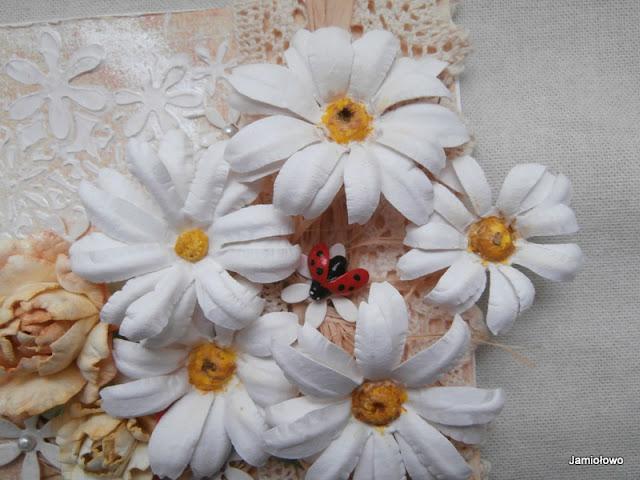 kurs kwiatowy -margaretki z papieru