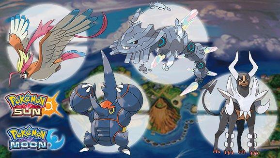 Pokémon Sol y Pokémon Luna reparte cuatro nuevas megapiedras