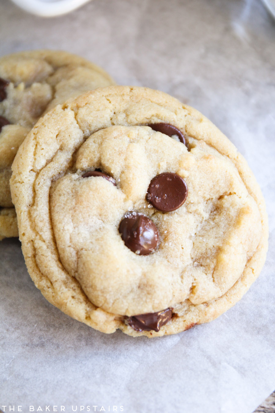 These millionaire chocolate chip cookies are so rich and indulgent, and over the top delicious!