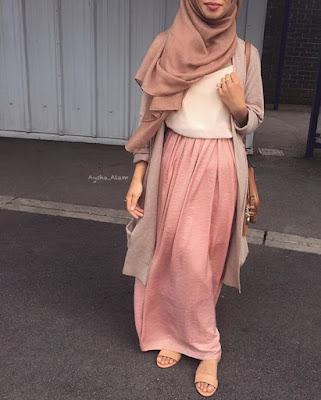 Contoh Model Baju Muslim Tren Sekarang 2017