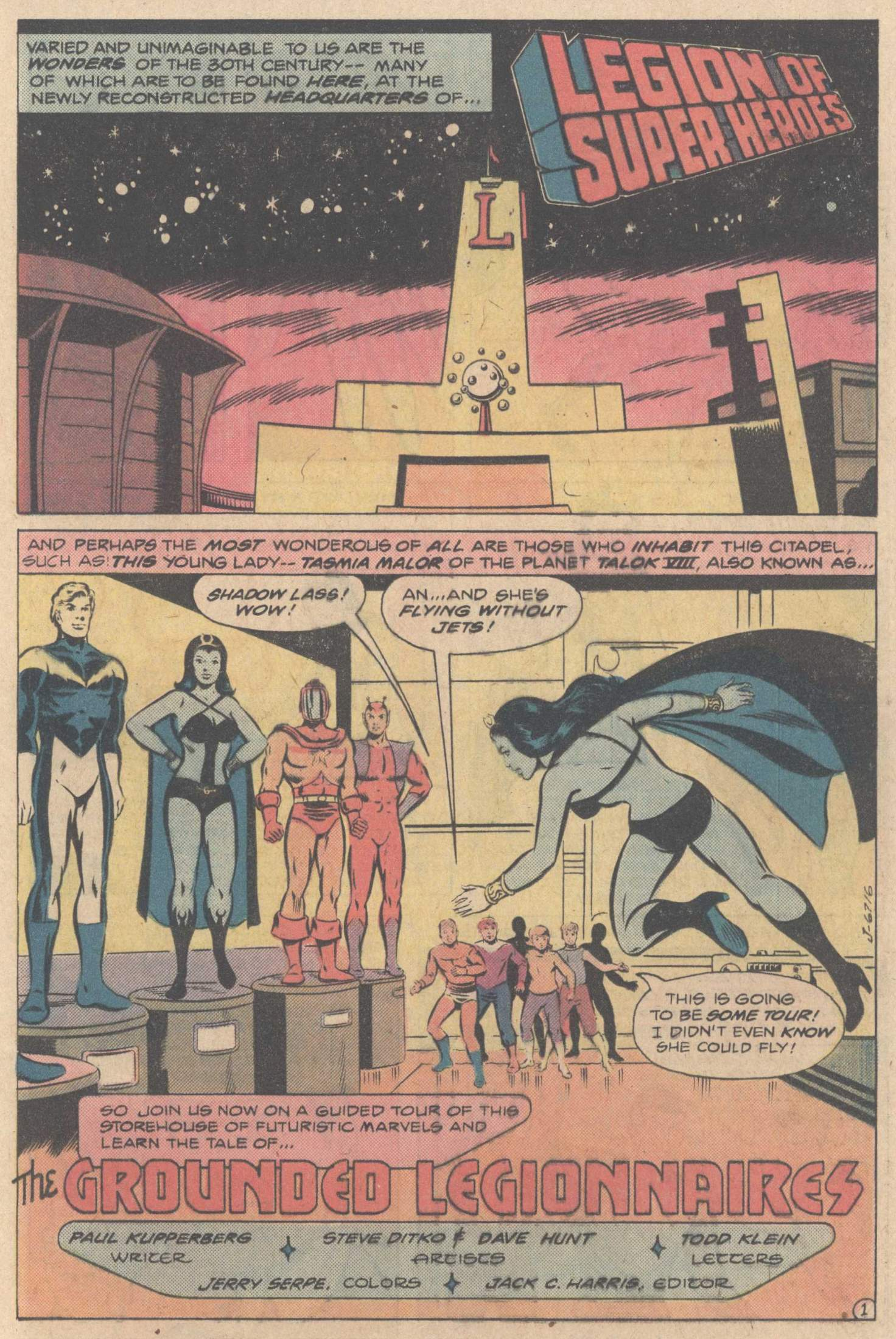 Legion of Super-Heroes (1980) 267 Page 24
