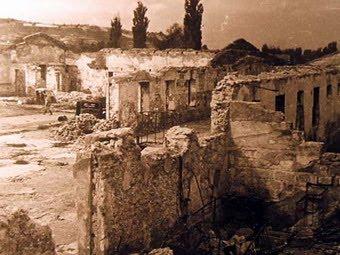 Взорванный завод Трудовой Октябрь в Симферополе, 1944 год