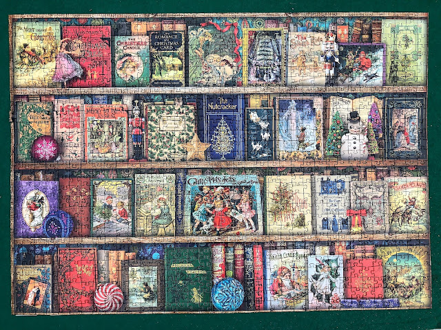 Christmas-themed jigsaw puzzles