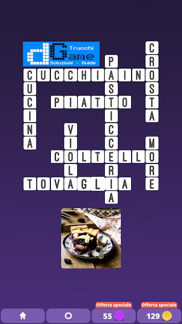 Soluzioni One Clue Crossword livello 22 schemi 2(Cruciverba illustrato)  | Parole e foto