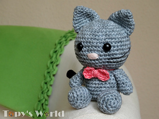 Amigurumi Kitten Patterns : Free amigurumi patterns bow the kitten