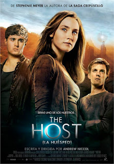 Portada de la película the host la huésped de Stephenie Meyer