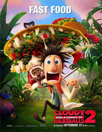 Cloudy with a Chance of Meatballs 2 2013 Hindi Dual Audio BluRay Full Movie Download