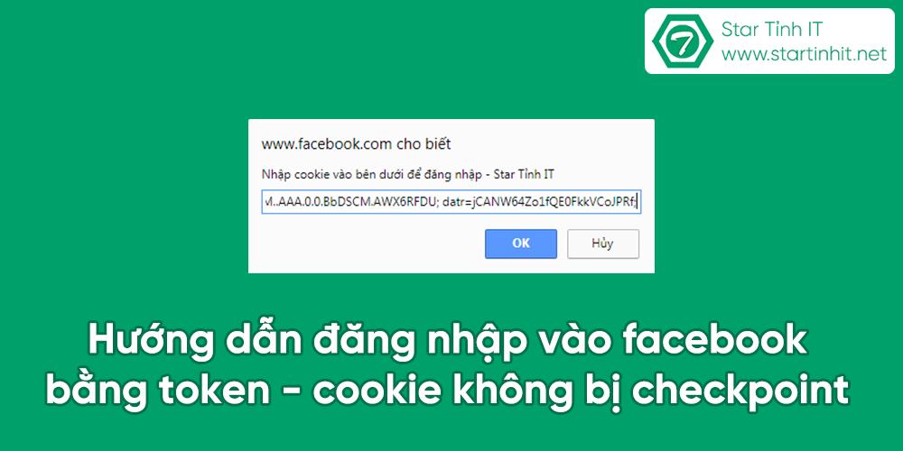 Hướng dẫn đăng nhập vào facebook bằng token không bị checkpoint, login fb bằng cookie,Hướng dẫn đăng nhập vào facebook bằng token - cookie không bị checkpoint, checkpass fb, hack facebook 5s, checkpass 5s