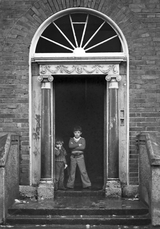 Dublin Inner City 1980s  vintage everyday