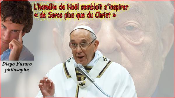noël 2018 homélie Dieu et moi le nul sans Lui: Homélie de Noël du Pape Le Pape  noël 2018 homélie