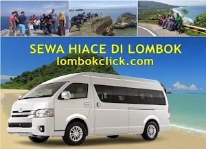 Sewa Hiace Di Lombok Murah Hanya 650.000 ( Driver + BBM )