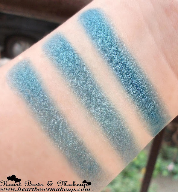 Bourjois Ombre à paupières Eye Shadow 02 wet and dry swatches