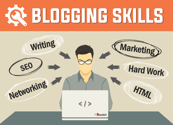 Blogging Skills You Required To Be A Professional