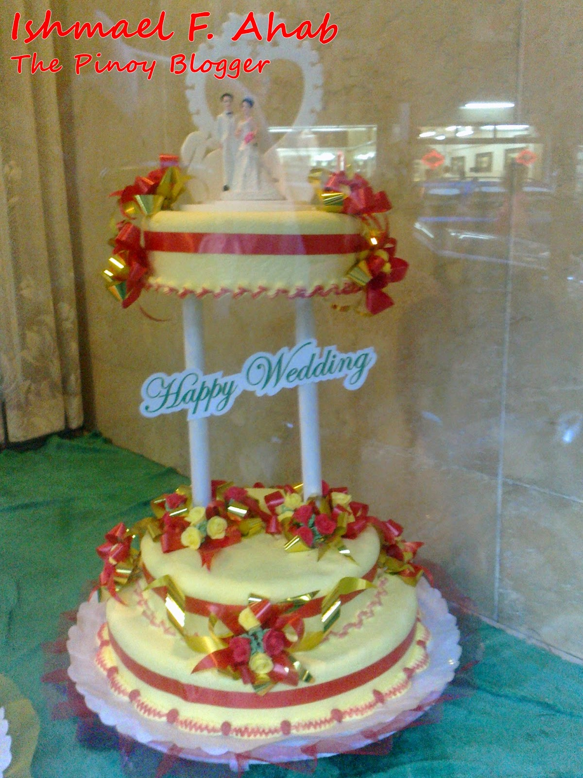 Our Wedding Cake From Salazar Bakery Before The Eastern