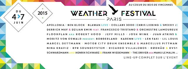 Weather Paris Festival 2015, OFF & ON 2 image