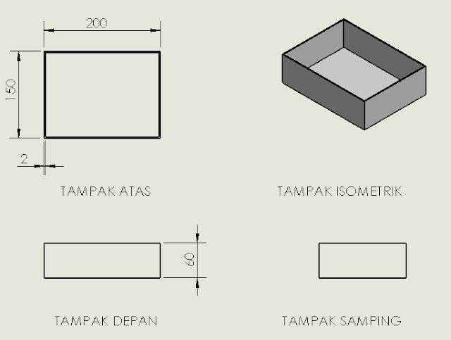 Gambar 3 16 Box Panel (sumber : perancangan)