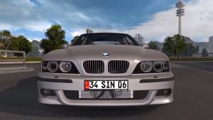 BMW 540i E39 M5 car mod