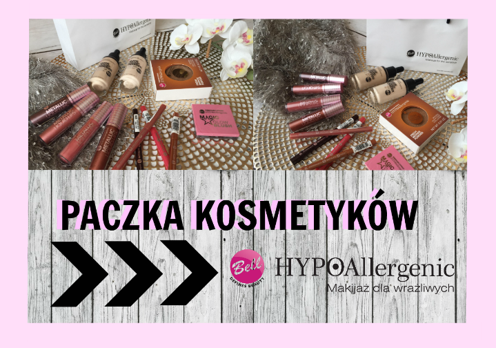 BELL HYPOAllergenic| paczka kosmetyków